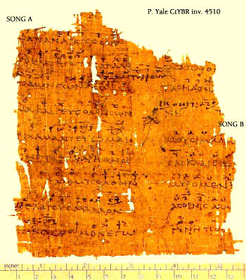 Sources of the Ancient Greek Music
